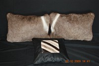Waterbuck and Zebra Cushions