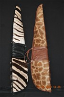 Zebra and Giraffe Skin Gunbags